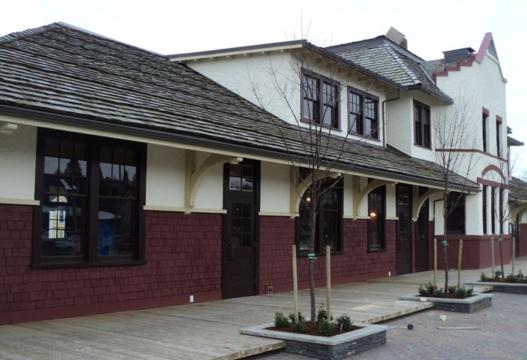 Commercial - Kelowna Train Station