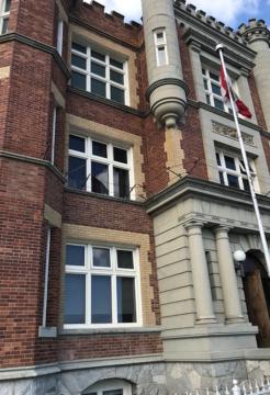 Thermal Window Restoration on Jail