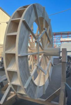 Water Wheel at Royal Roads University