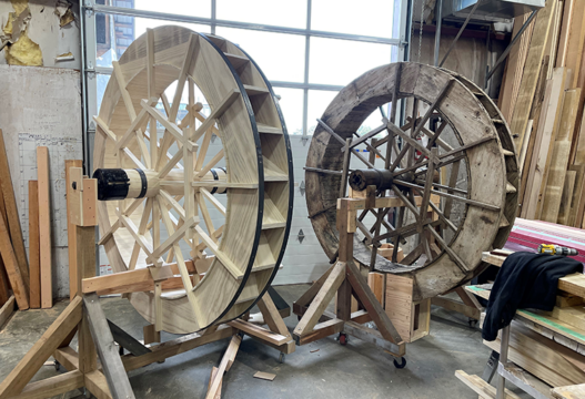 Water Wheel at Royal Roads