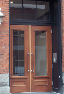 Vintage Woodworks Door
