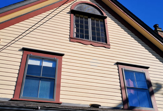 Storm Windows on Heritage House