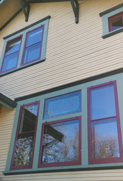 Storm Window on Heritage Home