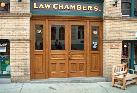 Law Chamber Storefront Restoration
