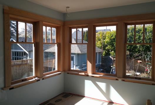 Wood Windows Residential Interior