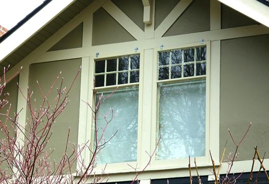 Storm Window on Second Level